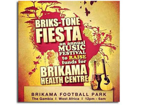 briks-tone fiesta gambia charity event