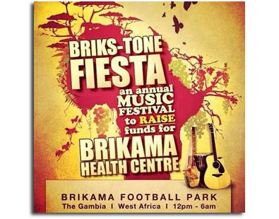 briks-tone fiesta gambia charity event flyer