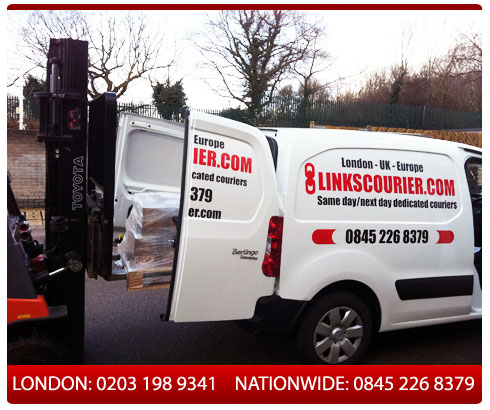 links courier - london based courier firm