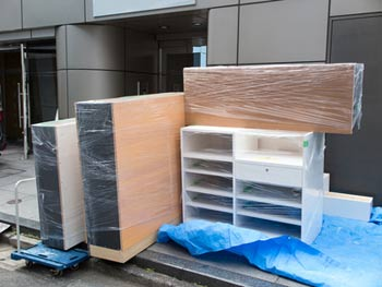 deliverying large furniture items